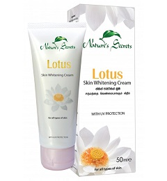 WHITENING CREAM and FACE CREAM ,NIGHT CREAM -  Lotus skin Whitening Cream-Nature Secrets-50ml
