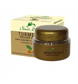 WHITENING CREAM and FACE CREAM ,NIGHT CREAM - Turmeric Golden Face Cream-Nature Secrets-50ml