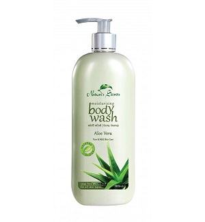 Leg Feet & Body Care - Body Wash – Aloe Vera-Nature Secrets-380ml