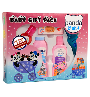 Baby Care - Panda Baby Gift Pack-Nature Secrets