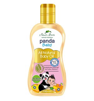 Baby Care - Panda Baby All Natural Baby Oil-Nature Secrets-100ml