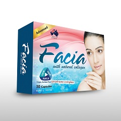 Food Suppliment -  FACIA ADVANCE CAPSULES 30's - Alaris
