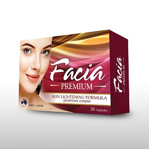Food Suppliment - FACIA PREMIUM CAPS (Advance Glutathione Complex) 30's - Alar