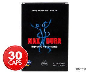 Food Suppliment - MAX DURA 30's