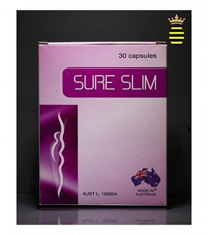 Food Suppliment - SURE SLIM CAPS 30's Alaris