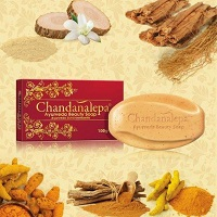 Leg Feet & Body Care - Ayurveda Herbal Soap-SANDALWOOD Chandanalepa-100g