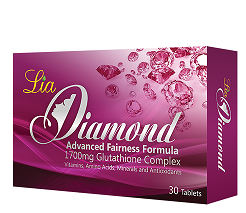 Food Suppliment - DIAMOND GLUTATHIONE 30caps LIA