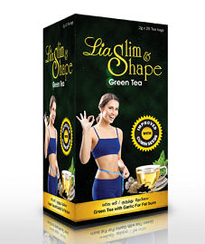 Food Suppliment - SLIM & SHAPE GREEN TEA LIA