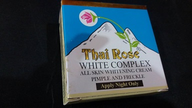 WHITENING CREAM and FACE CREAM ,NIGHT CREAM - Thai Rose Face Whiting Cream 8.5g-10g