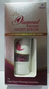 WHITENING CREAM and FACE CREAM ,NIGHT CREAM - Diamond Fairness Night Cream Lia