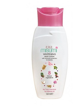 Body Lotion - Misumi Whitening Body Lotion Rs.390/= Nature Secrets