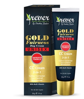 WHITENING CREAM and FACE CREAM ,NIGHT CREAM - GOLD FAIRNESS DAY CREAM CC -4REVER- 30G