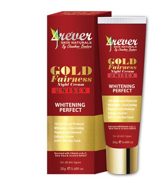 WHITENING CREAM and FACE CREAM ,NIGHT CREAM - GOLD FAIRNESS NIGHT CREAM -4REVER- 20G