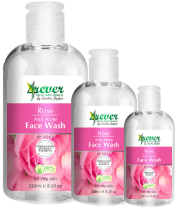 Face Wash - ROSE ANTI ACNE FACE WASH 250ML-4REVER