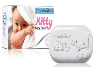 All - KITTY BABY SOAP - CHANDANALEPA 100G
