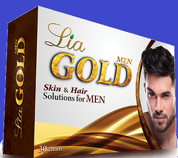 Food Suppliment - GOLD TABLET MEN LIA