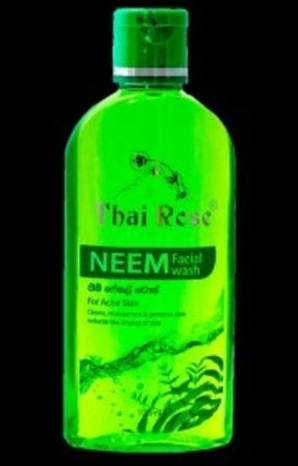 All - THAI ROSE FACE WASH - NEEM - 100ML