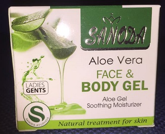 All - SANODA ALOE VERA FACE & BODY GEL 15G