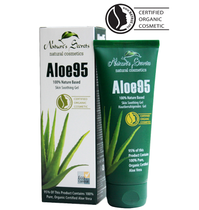 All - ALOE 95 SKIN SOOTHING GEL Nature Secrets 100ML