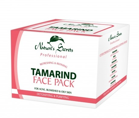 All - Tamarind Face Pack 5gX15 sachets Nature Secreats
