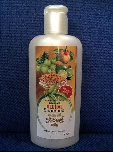 All - DENAGAMA MINIPURA-ULUHAL SHAMPOO HERBAL 100ML