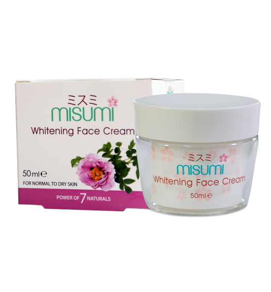 All - Nature's Secrets Misumi whitening Face Cream 50ml NS