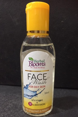 Face Wash - Herbal Blooms FACE WASH OILY SKIN 50ML