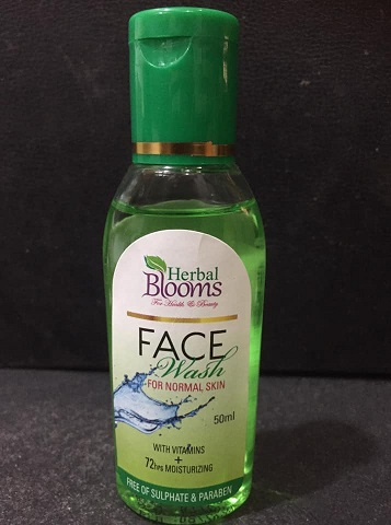 Face Wash - Herbal Blooms FACE WASH NORMAL SKIN 50ML